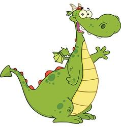 Cartoon dragon vector