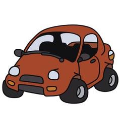 Funny car vector