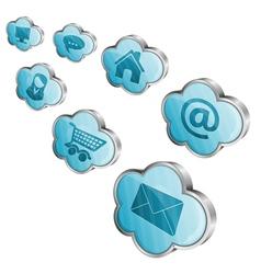 Cloud computing vector
