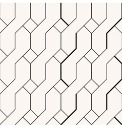 Abstract braid minimalistic black and beige vector