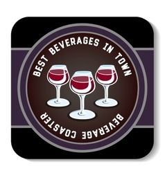 Beveragecoaster6 vector