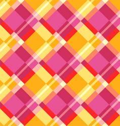 Plaid pattern vector