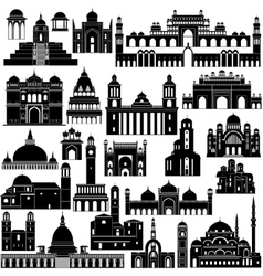 Architecture asia vector