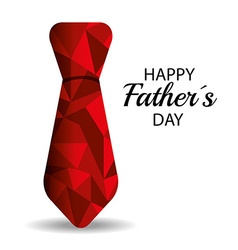 Happy fathers day card design vector