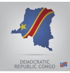 Democratic republic congo vector