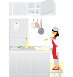 Chef assistant vector