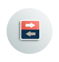 Modern app icon of transfer business concept vector