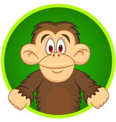 Chimpanzee carton vector