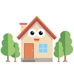 Happy home vector