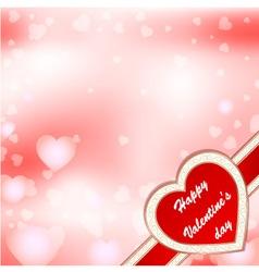 Greeting card valentine vector
