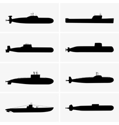 Submarines vector