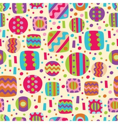 Abstract seamless color pattern vector