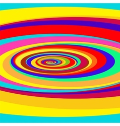 Colorful abstract psychedelic art background vector