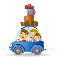 Family car vector