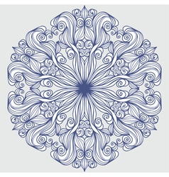 Design element round pattern vector