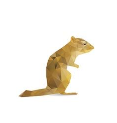 Abstract squirrel vector
