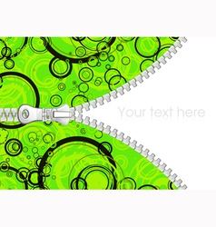 Abstract background with zipper vector