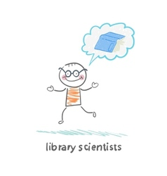 Library scientists think about the book vector
