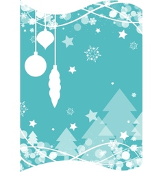 Christmas snowflake background vector