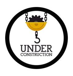 Under construction design vector