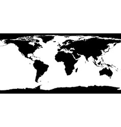 World map texture vector