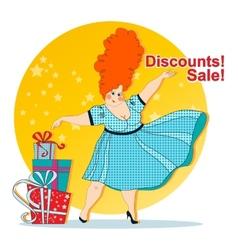 Discounts sale vector