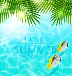 Summer holiday design vector