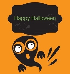 Holidays happy halloween vector