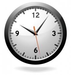 Office clock vector