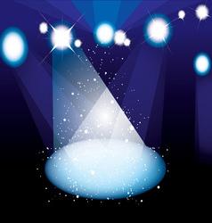 Concert spotlight vector