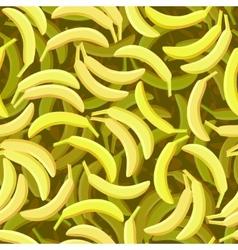 Seamless banana pattern vector