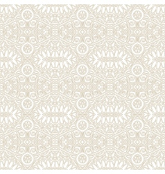 Seamless light ornamental geometrical background vector