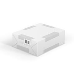 Wraped box vector