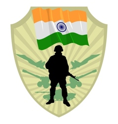 Army of india vector