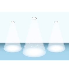 Spotlight stage vector