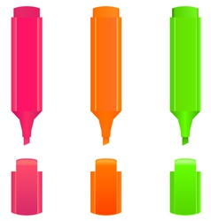 Highlighters vector