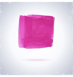 Grunge paint square vector