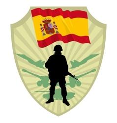 Army of spain vector