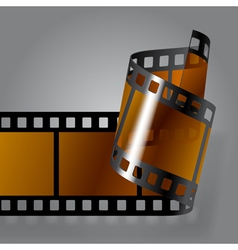 Photo film strip vector