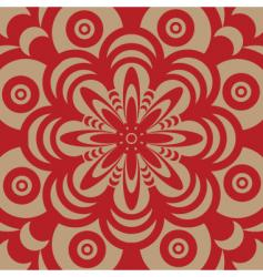 Sixties wallpaper design vector