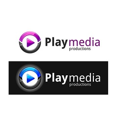 Play media logo vector