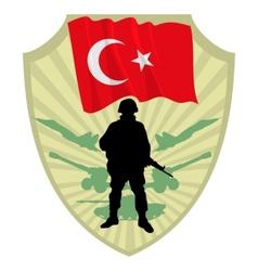 Army of turkey vector