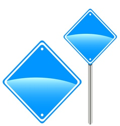 New road sign vector