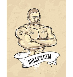 Bullys gym vector