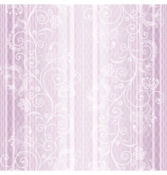 Gentle pastel striped pattern vector