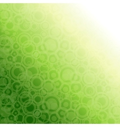 Green abstract light background vector