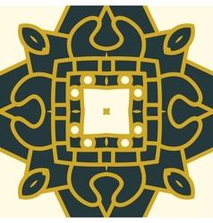 Square decorative design element vector