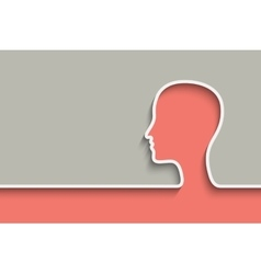 Head background vector