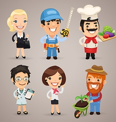 Professions set1 3 vector