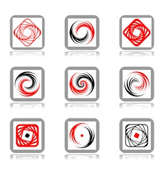 Spiral movement vector